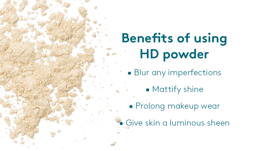 Benefits of using HD powder