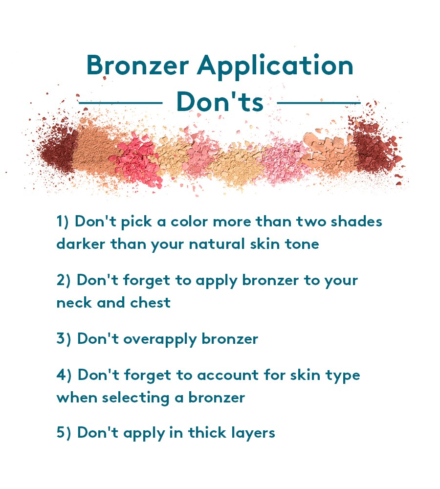 How not to apply bronzing primer
