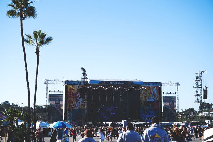 Kaaboo stage