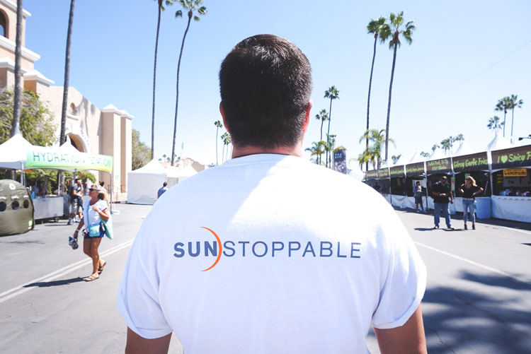 Sunstoppable shirt