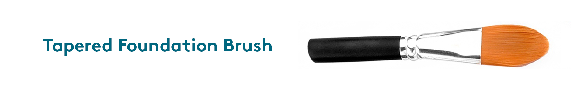 Type of makeup brush for foundation